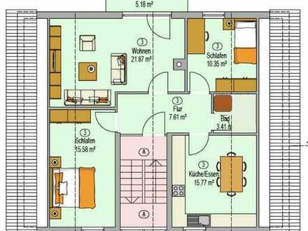 Modernisierte 3,5-Zimmer-Wohnung mit Balkon in Karlsruhe-Palmbach