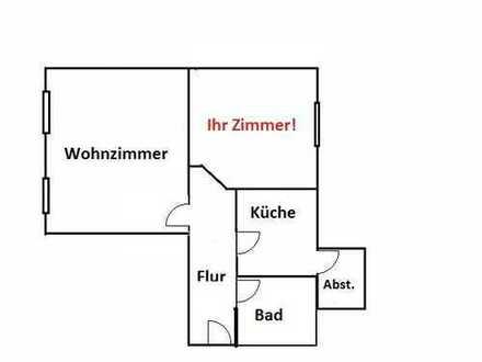 1 Zimmer im Zentrum von Harburg