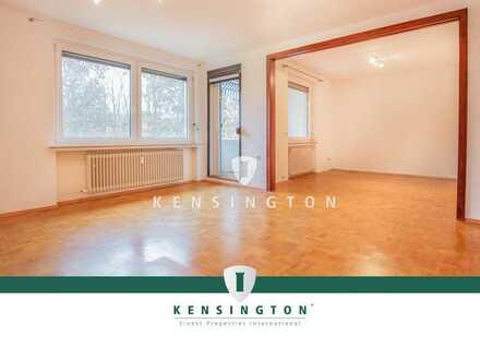 Gut geschnittene 2-Zimmer-Wohnung mit Süd-Loggia und PKW-Stellplatz in Osterholz