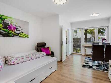 Modern möblierte Wohnung mit EBK