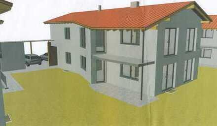 Erstbezug : Moderne 3-Zimmer-Erdgeschosswohnung mit Einbauküche,Terrasse und Garten