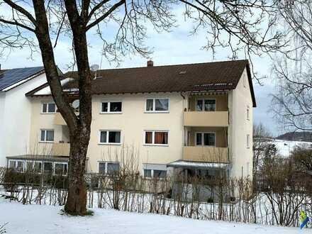 3- Zimmer-Wohnung mit Balkon und Stellplatz