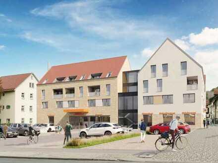 """Büro-/ Praxis-/ Dienstleistungsfläche im Wohn- und Geschäftshaus Quartier """"An der Stadtmauer"""""""