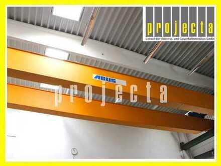 PROJECTA: 3.100 m² Industrieobjekt *NEUBAU 2016* mit Kranbahnanlage und Büroanteil