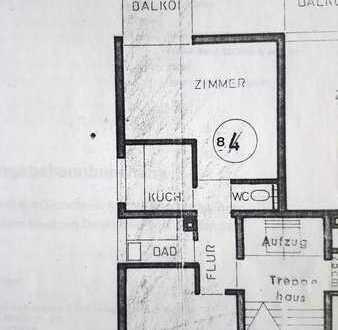 Sonnige und vollmöbelierte 2 Raumwohnung in Pforzheim Nordstadt