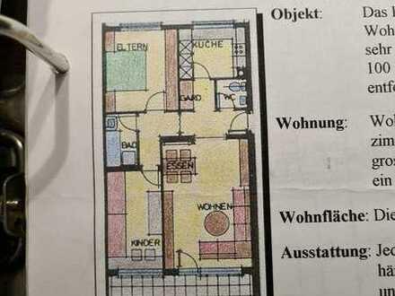 Gepflegte Wohnung mit drei Zimmern sowie Balkon und EBK in Schiltach