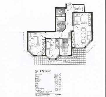Schöne 3,5 Zimmerwohnung ab 01.08.2018 zu vermieten