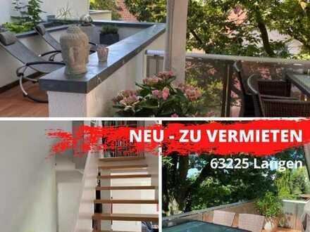 Glück, Freude, Ruhe, eine Maisonettewohnung der besonderen Art/ Langen-Steinberg