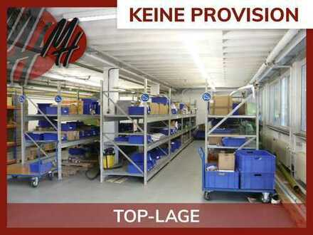 KEINE PROVISION ✓ Lager-/Werkstattflächen (200 m²) & Büroflächen (350 m²) zu vermieten