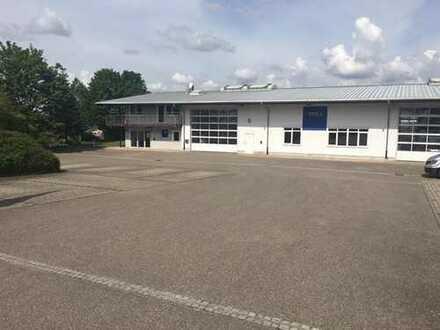 Langenbrettach - Gewerbehalle mit Büros