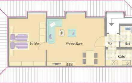 Besigheim - ideale 2-Zimmer Single-Wohnung für jung und alt!