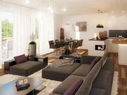 Moderne 3-Zi.-Wohnung im geschützten Atrium mit parkähnlicher Grün- und Außenanlage
