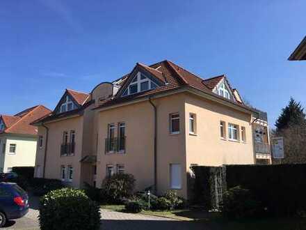 2 1/2 Zimmer Dachgeschoss Maisonette in Berlin, Pankow mit Einbauküche und 2 Balkonen