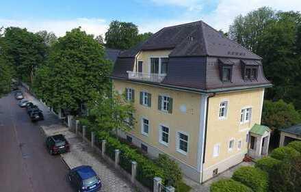 E & Co - Rarität in Nymphenburg. Denkmalgeschützte Jugendstilvilla mit ca. 915 qm Wohn-/Nutzfl.