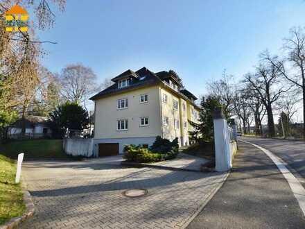 Kapitalanlage im Grünen! 2-Raum-Wohnung mit großer Terrasse und TG-Stellplatz in Glauchau!