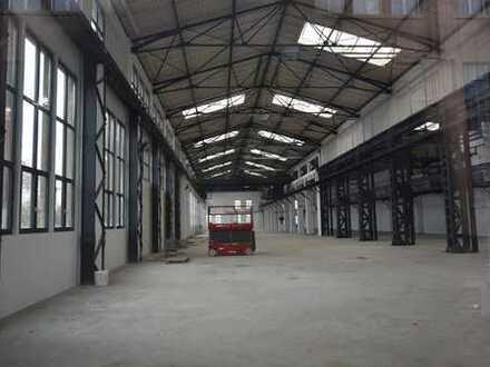 Produktionshalle mit 20t-Kranbahn - frisch saniert und Ihrem Bedarf angepasst!