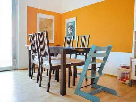 Heidelberg-Handschuhsheim: Zentrale Lage -Schöne 2-Zimmer-Wohnung - Große Essküche - Wintergarten