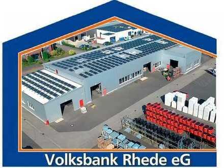 Großzügiges Gewerbegrundstück mit Produktions- und Lagerhalle sowie Bürogebäude in Rhede