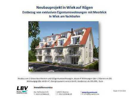 Neubauprojekt in Wiek auf Rügen