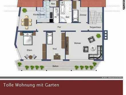 Exklusives Raumgefühl bietet diese 6-Zimmer Wohnung in Westhausen - Reichenbach