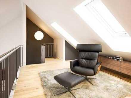 Groß und modern - unsere beste Dachterrassenwohnung.