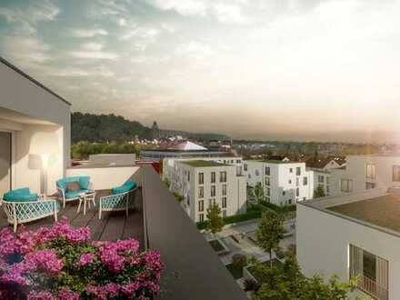Zum Verlieben! Penthouse-Wohnung mit 2 sonnigen Dachterrassen in idyllischer Umgebung