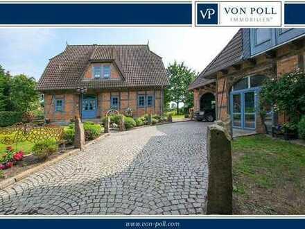VON POLL Großharrie: Landsitz mit Option zur Pferdehaltung