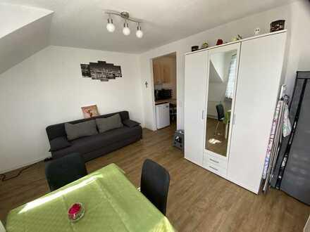 Vollmöblierte 1 Zimmer-Wohnung mit Balkon