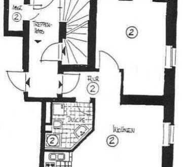 Renovierte 2-Zimmer-Erdgeschosswohnung mit EBK