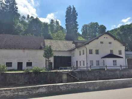 Renovierungsbedürftig: Wunderschöne, alte Gaststätte mit Scheunen auf herrlichem Grundstück