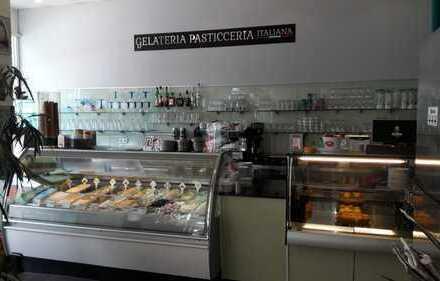 Eis-Cafe mit Ganzjahresbetrieb in der Stadtmitte