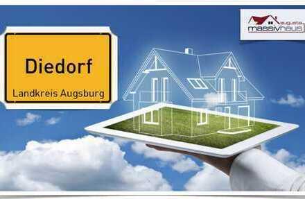 Zugreifen !! Herrliches Baugrundstück mit 560m2 direkt in Diedorf !!