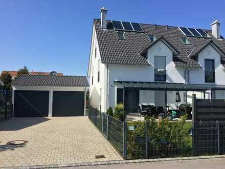 Sonniges Luxus- Doppeleigenheim Doppelgarage