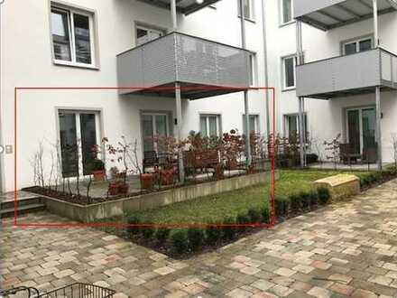 3-Zimmer-EG-Wohnung mit Terrasse