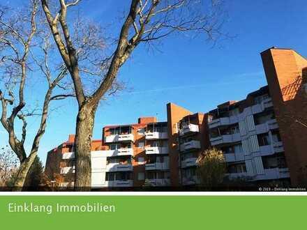 Stadtrandlage ! 4 Zi ETW mit Tiefgarage schön im Grünen