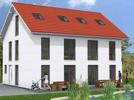 Wohnen mit 2 volle Wohngeschosse in einer Doppelhaushälfte in Gersthofen