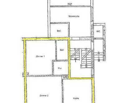 Schöne Erdgeschosswohnung mit 2 Zimmern K/D/B in der Gartenstadt zu vermieten