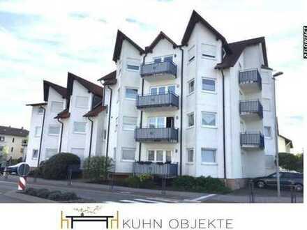Schön geschnittene 3-Zimmer Wohnung am Ortsrand von Neulußheim