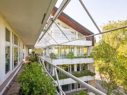 Büro zur Miete in Düsseldorf-Reisholz mit Terrassen und Kühlung