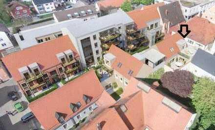 Hochwertige 2,5-Zimmer-Terrassenwohnung mit großer Dachterrasse und EBK in Neustadt an der Donau