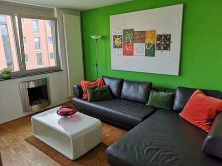 Von privat: Möblierte, moderne 5 Zimmer Maisonette-Wohnung inkl. 2 TG-Stellplätze in MZ-Gonsenheim