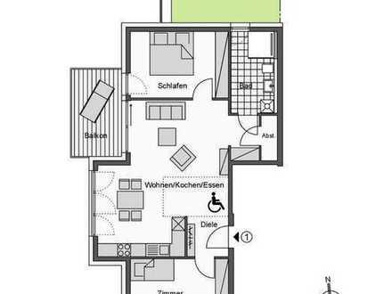 Attraktive 3-Zimmer-Wohnung mit Gartenanteil (Whg. 1)