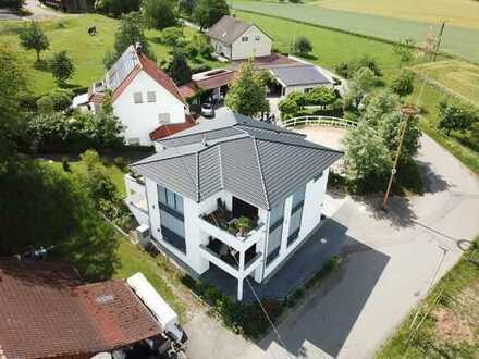 1-Zimmer-Appartement mit Balkon und Küche in Bad Saulgau *im Grünen*