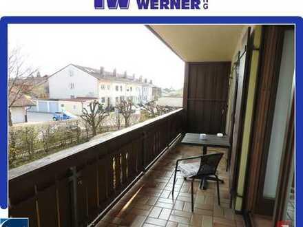 ***Sehr gepflegte 2-Zimmer-Wohnung mit Süd-Balkon und TG-Stellplatz in Bernau***
