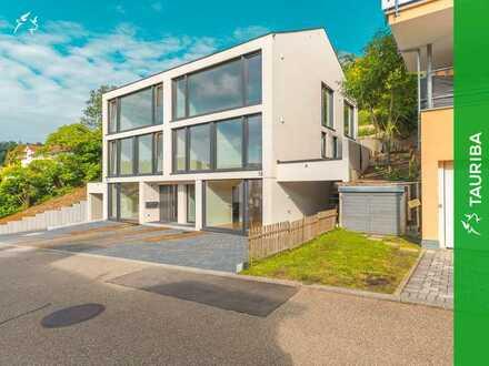 +++Erstbezug: Luxuriöse Doppelhaushälfte rechts mit Weitblick und Einliegerwohnung+++