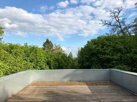 Exklusive und gepflegte 1-Zimmer-Terrassenwohnung mit Dachterrasse, Einbauküche in Dortmund