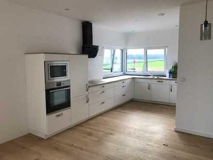Erstbezug: ansprechende 3-Zimmer-Wohnung mit Einbauküche und Balkon in Nellingen