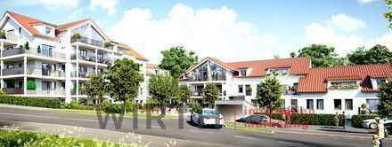 * NEUBAU ENSEMBLE - WOHNEN AM SONNENHANG - KFW 55 * MAISONETTE MIT 295 m² GRUNDSTÜCK*