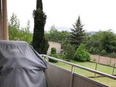 Helle 3-Raum-EG-Wohnung mit Balkon und Einbauküche