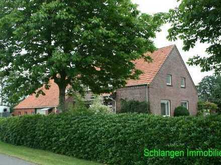 Gulfhaus mit altem Ständerwerk in Saterland - OT Scharrel